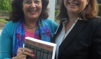 Sue Funnell and Patricia Rogers at the Purposeful Program Theory launch
