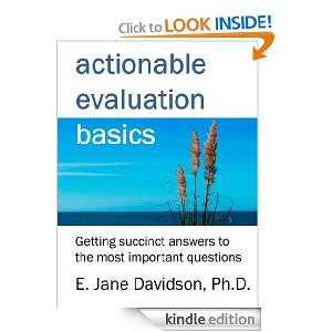 actionable evaluation cover